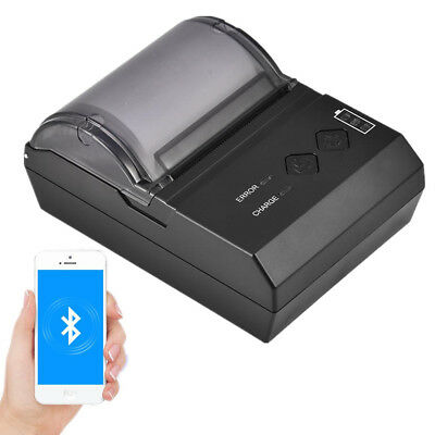 80mm/58mm Portable Bluetooth Thermal Printer Receipt ESC/POS for Android Wins WT