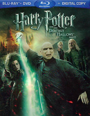 Harry Potter & the Deathly Hallows: Part 2 Blu-ray+Digital HD Code LOCAL PICKUP