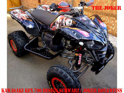Invision Dekor Graphic Kit Atv Kawasaki Kfx 450 Oder Kfx 700 The Joker B
