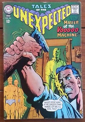 Tales Of The Unexpected 104, Dc, Silver Age, January 1967, Fn