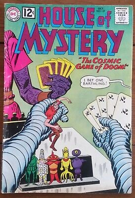 House Of Mystery 127, Dc, Silver Age, October 1962, Vg