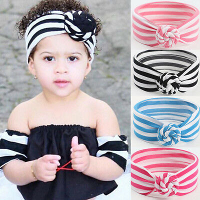 Kids Girls Baby Toddler Headband Hair Band Headwear Head Wrap Photography Props
