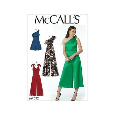 Misses Romper and Jumpsuits   McCalls Sewing Pattern M7632
