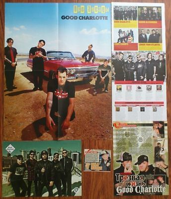 GOOD CHARLOTTE - Benji Madden Joel Posters Clippings