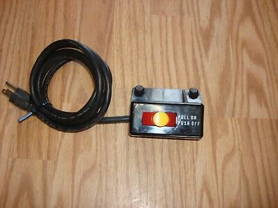 CRAFTSMAN TABLE SAW On/Off Power Outlet Safety Switch With Key P/N 60381