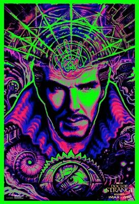 "DOCTOR STRANGE AMC IMAX (2017) - 9.5""x13"" Original Authentic Promo Movie Poster"
