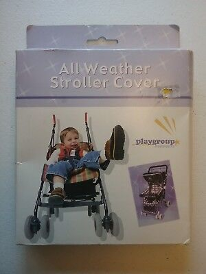 Stroller Rain Cover - All Weather Baby Toddler  Cover - New