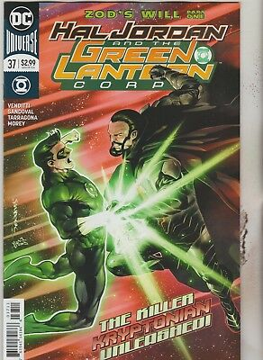 Dc Comics Hal Jordan & Green Lantern Corps #37 March 2018 1St Print Nm