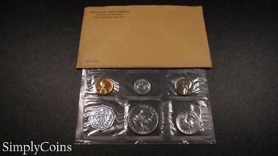 1963 Proof Set ~ Original Envelope With COA ~ US Mint Silver Coin Lot SKU-1094