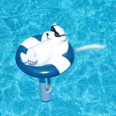 Floating Pool Thermometer Polar Bear String Swimming Hot Tub Spa Jacuzzi Pond L