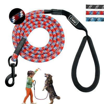 Dog Climbing Rope Leash for Medium Large Breeds 6ft Long Mountain Climbing Lead