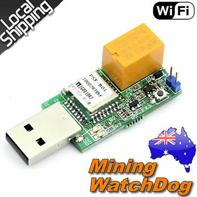MiningTag Wifi USB Watchdog PC Remote Control Module For Mining Gaming Bitcoin