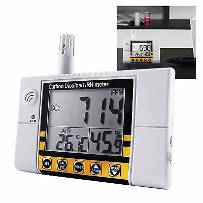 Carbon Dioxide/ Temperature/ Humidity Air Quality Monitor IAQ Meter CO2 Detector