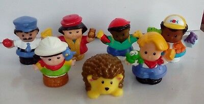 FISHER PRICE Little People LOT of 7 SEVEN - Play, Child
