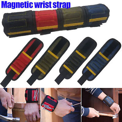Magnetic Wristband Toolkit Belt Screw Scissor Holder Tool Storage Wrist Bracelet