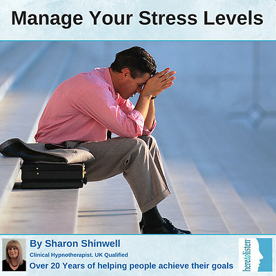 Stress Management, Stress Relief with CBT and Self-Hypnosis - CD + FREE mp3
