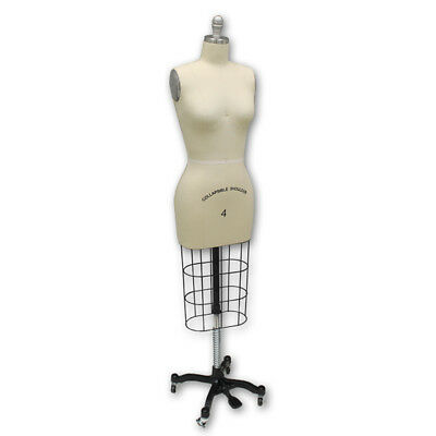 Professional Fashion Dressmaker Dress Form Female Mannequin Display Size 10 New