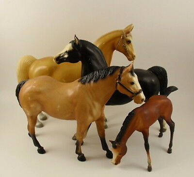 Collection 4 Vintage BREYER Horses #98 #51 #48 #57