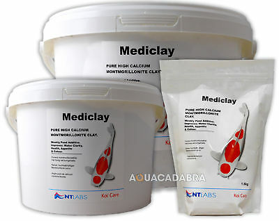 NT Labs Mediclay Algae Clear 1.5kg 5kg 20kg Montmorillonite Clay Koi Fish Pond