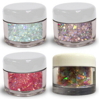 Edible Glitter Flakes MAGIC SPARKLES - Set of 4 - Fairytale Mix Cake Decorating