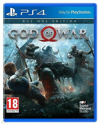 God Of War Ps4 Edizione Day One Videogioco Italiano Sony Playstation 4 Gioco