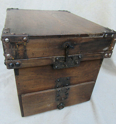 Antique Chinese Seaman's Camphor Wood Chest