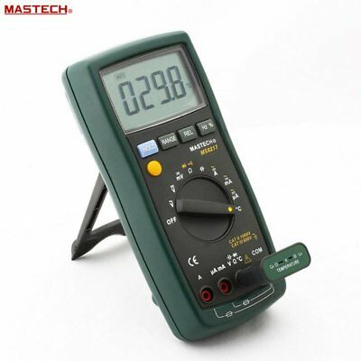 MASTECH MS8217 Digital Multimeter Auto ranging Frequency & Temperature Tester