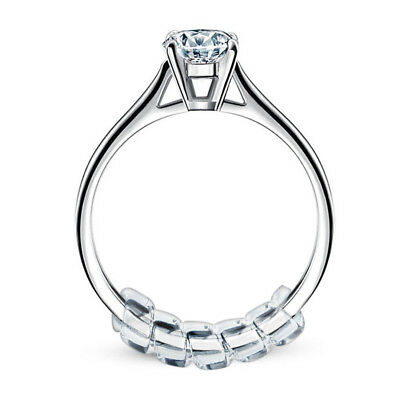 Beauty Pack of 14 Ring Size Adjuster Snuggies Ring Size with Polishing Cloth SS