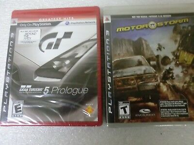 PS3 Gran Turismo 5 Prologue with Motor Storm Playstation 3 - New/Sealed