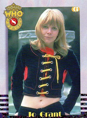 Cornerstone DR WHO chase cards no.8 Jo Grant