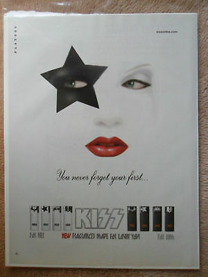 2006 Print Ad KISS Rock and Roll Band Cologne Fragrance ~ Never Forget The First