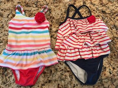Lot 3T Gymboree Bathing Suits Swimming Suits Girls