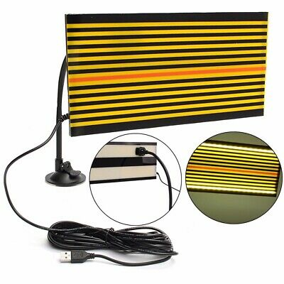 1Set USB LED Line Board Car Scratch Reflector Paintless Dent Repair PDR Tool