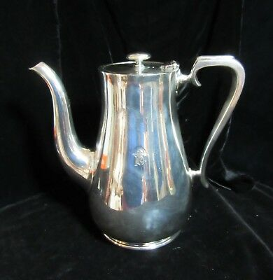 P&O Peninsular & Orient Lines Ocean Liner Coffee Pot Elkington Silver Plated