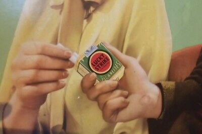 Large Vintage Lucky Strike Cigarette Ad - Pre-war 1930s or early 1940s