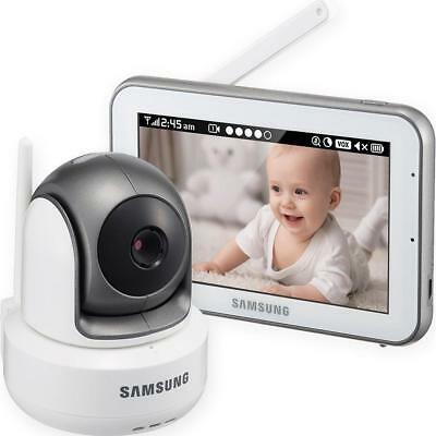 SEW-3043W - Samsung Wisenet BrightVIEW HD Baby Video Monitoring System IR...
