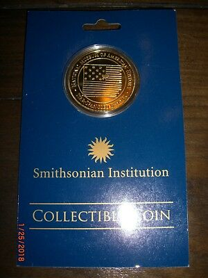 Smithsonian Institution Star Spangled Banner Collectible Coin- NEW w/ orig pckg