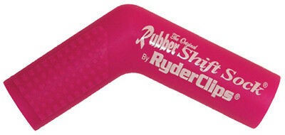 Ryder Clips RSS-PINK Rubber Shift Sock Pink