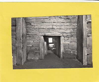 MAESHOWE   entrance to central chamber     , ORKNEY   (  a62  )