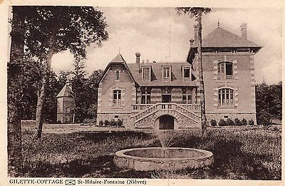 Carte Postale SAINT HILAIRE FONTAINE Gilette Cottage