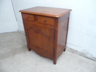 A Quality Late 20th Century Golden Oak 1 Drawer 1 Door Hall/Kitchen Cupboard