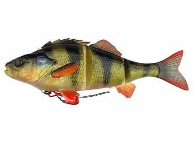 NEW 2018! Savage Gear 4D Line Thru Perch 17cm 63g / Pre rigged / 3 COLORS!
