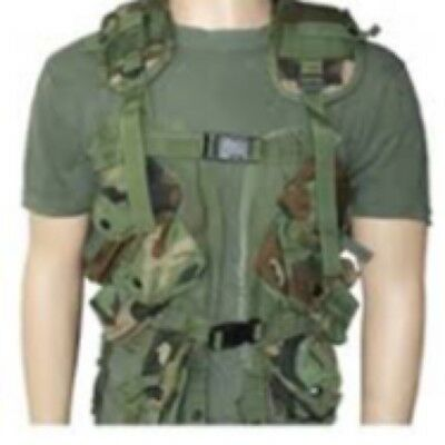 MILITARY TACTICAL LOAD BEARING VEST MOLLE II Good Condition,LBV, airsoft