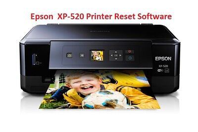 EPSON XP-520 PRINTER Waste Ink Pad Reset Disc New