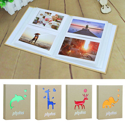 Infant Photo Album Cartoon Cover Memory Book Durable Family Baby Pictures Holder