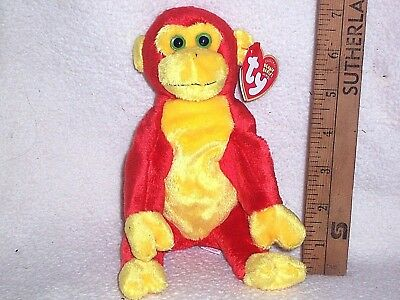 """Ty Beanie Babies Collection """"CHOPSTIX"""" DOB January 22, 2003 Tags Intact. 7"""" Tall"""