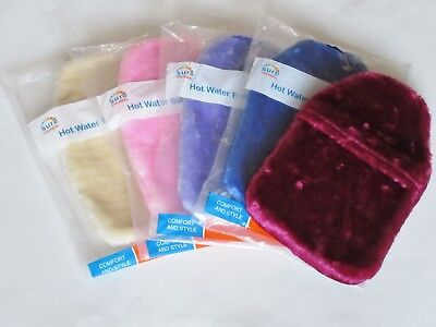 Luxury Soft Faux Fur Hot Water Bottle Cover - Cosy Fur