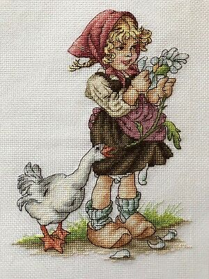 Completed Counted Cross Stitch Tapestry Unframed Picture