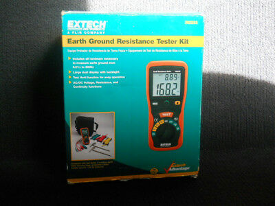 EXTECH INSTRUMENTS Earth Ground Tester Kit,820 Hz,MODEL#382252