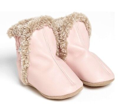 New Robeez Toddler Girl's Classic Bootie, Size 12-18m